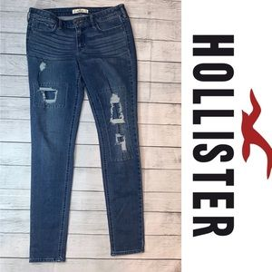 Hollister Skinny Distressed Jeans Size 7R